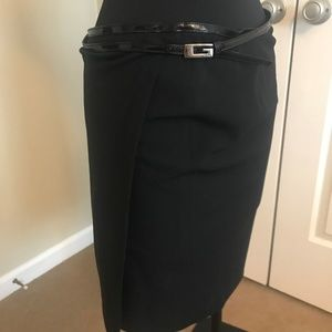 Gucci Skirts - Gucci Black Wrap Skirt size Italy 46